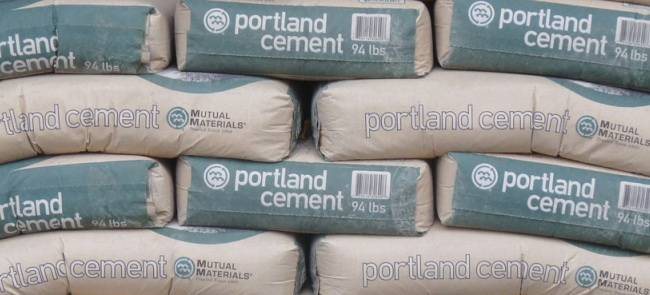 Articles of cement