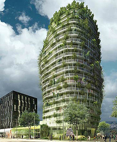 Building on the environment