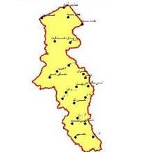File Shape Cities in Ardabil Province