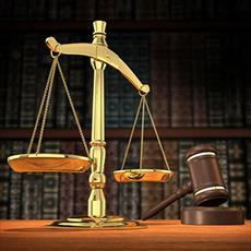 Complete report of training courses for legal advice