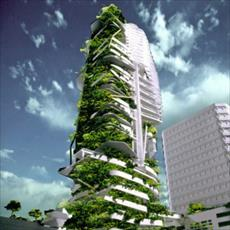 PowerPoint green roof architecture