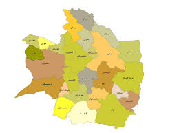 The natural geography of the city of Nishapur