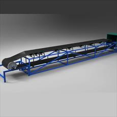 Conveyors are designed in Salydvrk and CATIA
