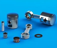 Cylinder and piston design