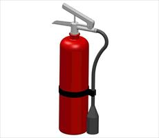 Design fire extinguisher