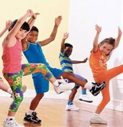 Effect of exercise in children