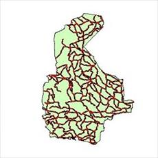 File SHAPE roads connecting province