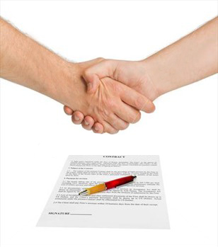 Illegal clauses in contracts paper