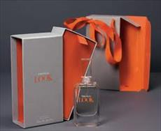 Research the history of perfume packaging and packaging