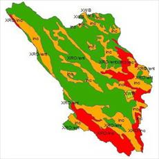 SHAPE file soil level Chaharmahal va Bakhtiari province