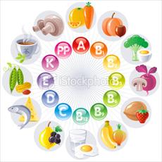 Study of vitamins needed by the body