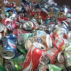 Zinc and aluminum from recycled juice containers plan