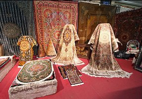 Paper Afshar rugs are