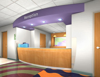 Paper interior design of hospitals