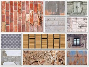 Paper types of walls