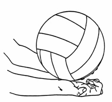 The effect on the performance level of skill and learning simple service model Volleyball