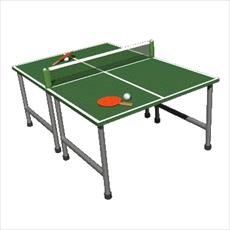 Booklets and table tennis