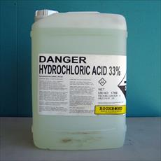 Entrepreneur of the hydrochloric acid (salt ink)