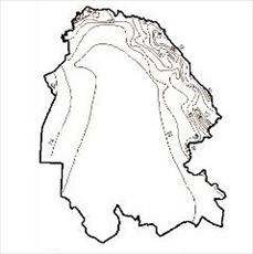 Isotherms map Khuzestan