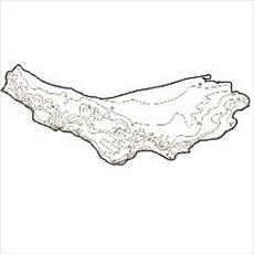Isotherms map province