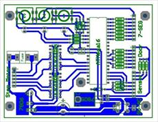 Lift with Atmega16 microcontroller simulator project