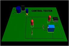 Project tester remote control devices