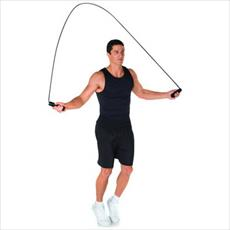 Research on exercise rope woman