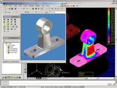 The design and modeling components of a device in Mechanical Desktop