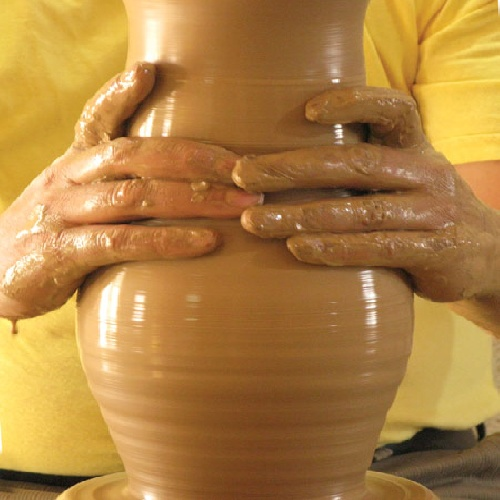 Paper art and the art of pottery