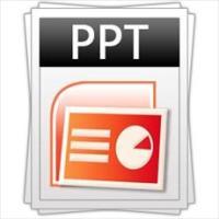 PowerPoint variety of parts in a shop or company