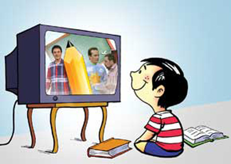 Paper TV and Child