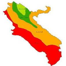 Climate class map Ilam