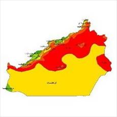 Climate classes map Semnan province