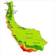 Climate classes map of Gilan