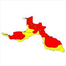 Climate classes map of the province