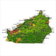 Land province SHAPE file