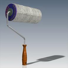 Roller brush designed and Catia Salydvrk
