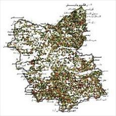 SHAPE file villages of East Azerbaijan province