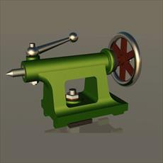 Salydvrk and Catia design of the tailstock lathes