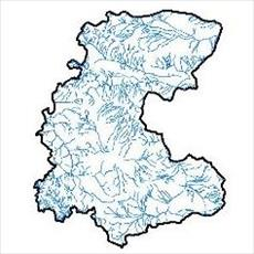 SHAPE file waterways Central Province