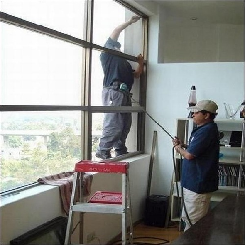 Safety Research with ladder