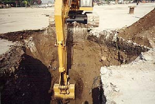 Easy, but very technical, operational excavation