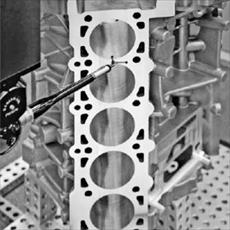 Evaluation of casting defects in cast aluminum parts Pressure (HPDC)