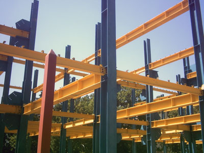 Following the implementation of construction Paper and steel structure
