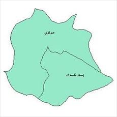 Map of the city of Isfahan