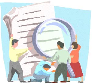 Paper is to evaluate the performance of employees