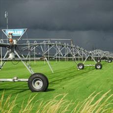 PowerPoint center pivot irrigation system