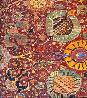 Article myths in Iranian carpet designs