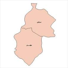 Map of the city of Mahabad