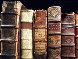 Books and library in ancient times